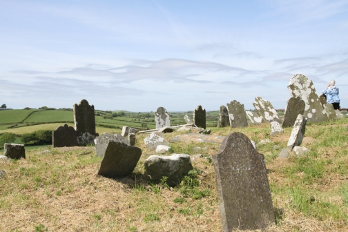 "Slans Graveyard. Ballywalter. © Elaine McFeeters; Cradle Song for Eleanor (Louis MacNeice): ""Sleep, my darling, sleep."""