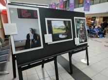 Journey photography exhibition. Central Station, Belfast, Northern Ireland. (c) Allan LEONARD @MrUlster