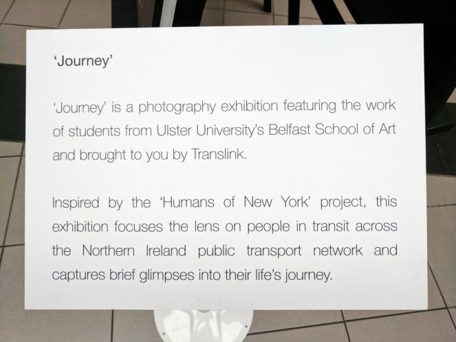 Journey photography exhibition.