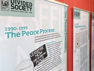 1990-1999: The Peace Process (c) Allan LEONARD @MrUlster