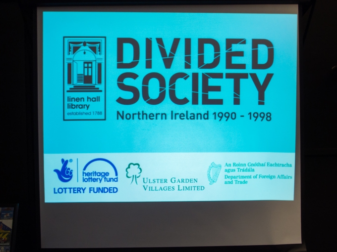"""Exhibition launch: """"We Lived It: The Social Impact of the Troubles""""@TheLinenHall"""