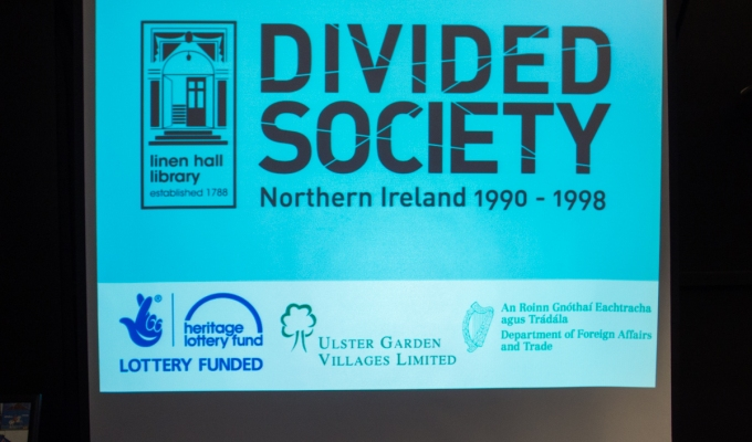 "Exhibition launch: ""We Lived It: The Social Impact of the Troubles"" @TheLinenHall"