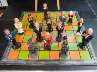 Political chessboard.