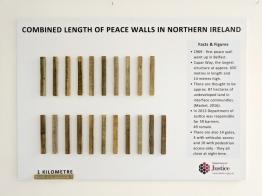 Combined Length of Peace Walls in Northern Ireland (c) Allan LEONARD @MrUlster