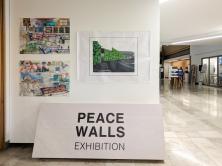 Peace Wall exhibition (c) Allan LEONARD @MrUlster