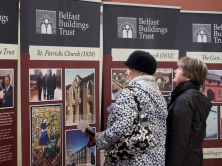 Belfast Buildings Trust. Carlisle Memorial Methodist Church. North Belfast Cultural Corridor, Imagine Belfast Festival. Belfast, Northern Ireland.