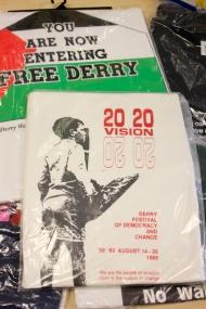 T-shirts. (c) Peter MOLONEY @PeterMoloneyCol