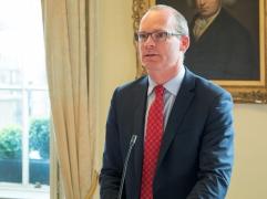Simon COVENEY TD (Tánaiste & Minister for Foreign Affairs and Trade, Ireland). @UCDdublin (c) Allan LEONARD @MrUlster