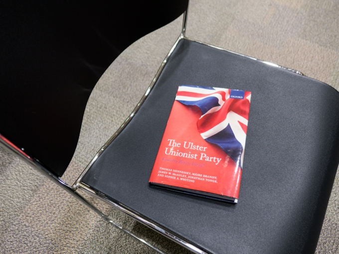 Country before party? A UUP book launchdiscussion